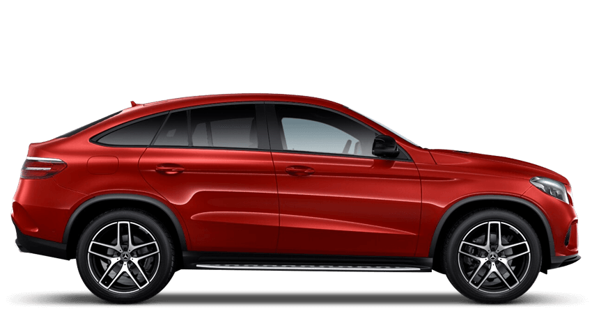 Hyacinth Red (Special Metallic) Mercedes-Benz Gle Coupe