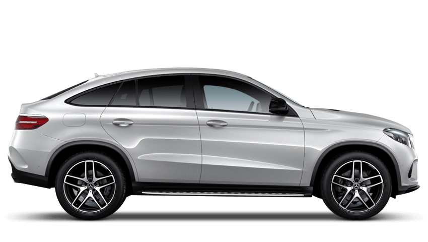 Iridium Silver (Metallic) Mercedes-Benz Gle Coupe