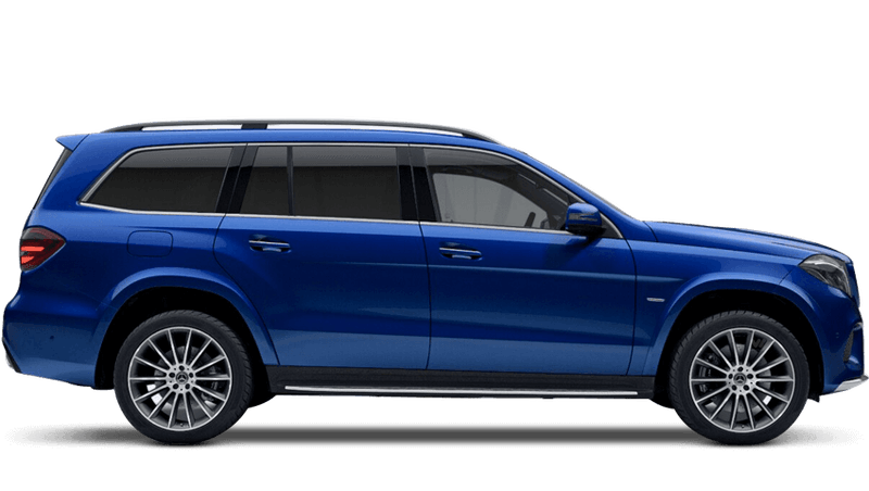 Brilliant Blue (Metallic) Mercedes-Benz GLS