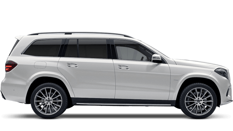 Diamond White (Designo Metallic) Mercedes-Benz GLS