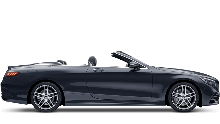 Anthracite Blue (Metallic) Mercedes-Benz S Class Cabriolet