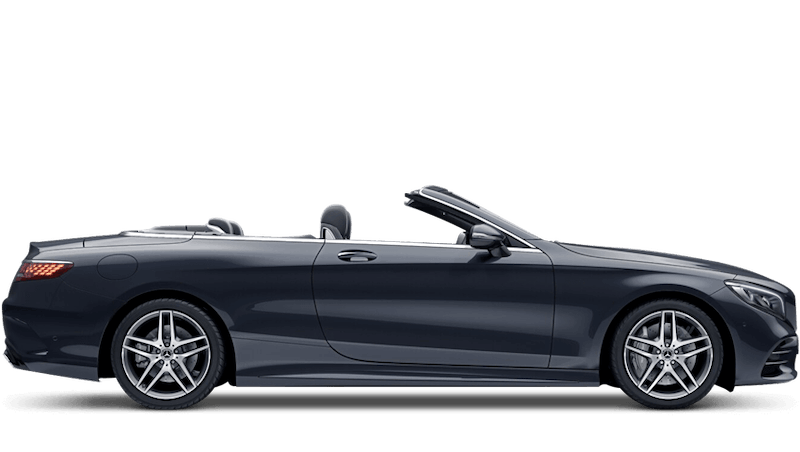 Anthracite Blue (Metallic) Mercedes-Benz S-Class Cabriolet