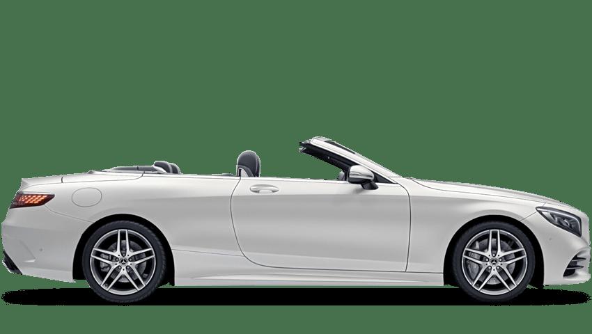 Cashmere White Magno (Designo Magno) Mercedes-Benz S Class Cabriolet