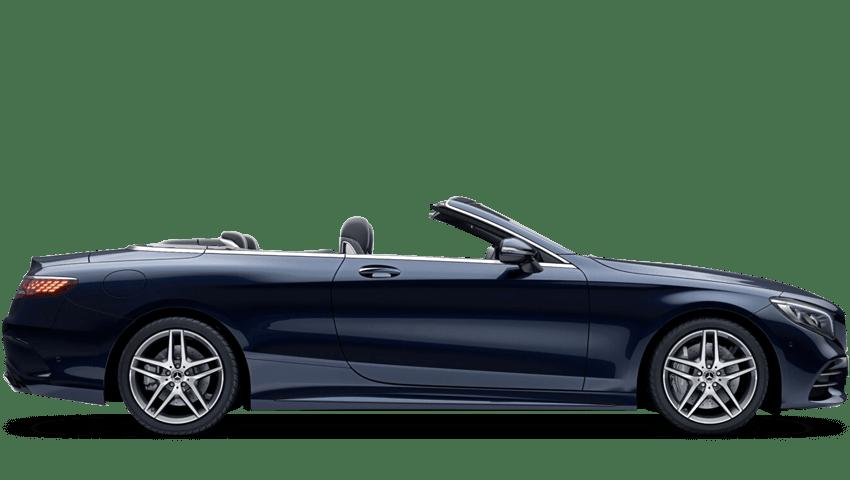 Cavansite Blue (Metallic) Mercedes-Benz S Class Cabriolet