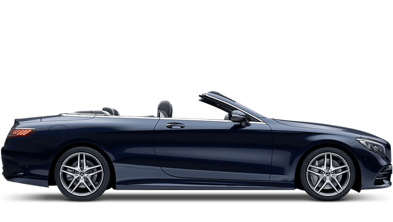 Cavansite Blue (Metallic) Mercedes-Benz S-Class Cabriolet