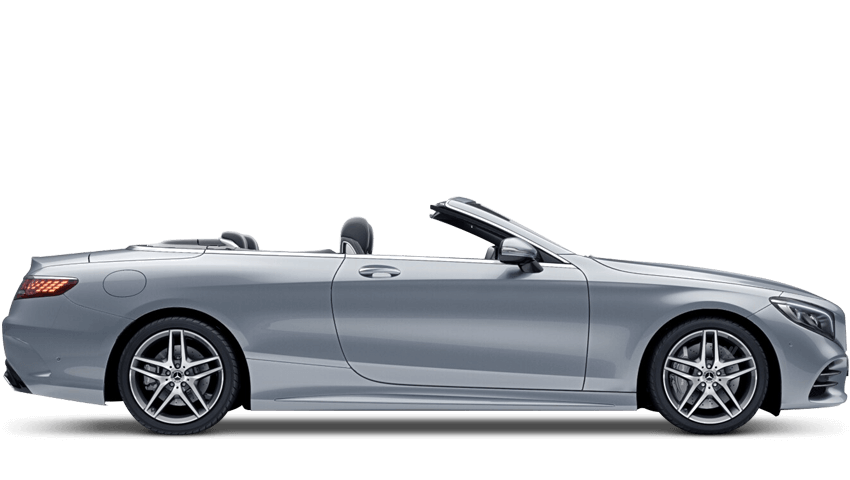 Diamond Silver (Metallic) Mercedes-Benz S Class Cabriolet