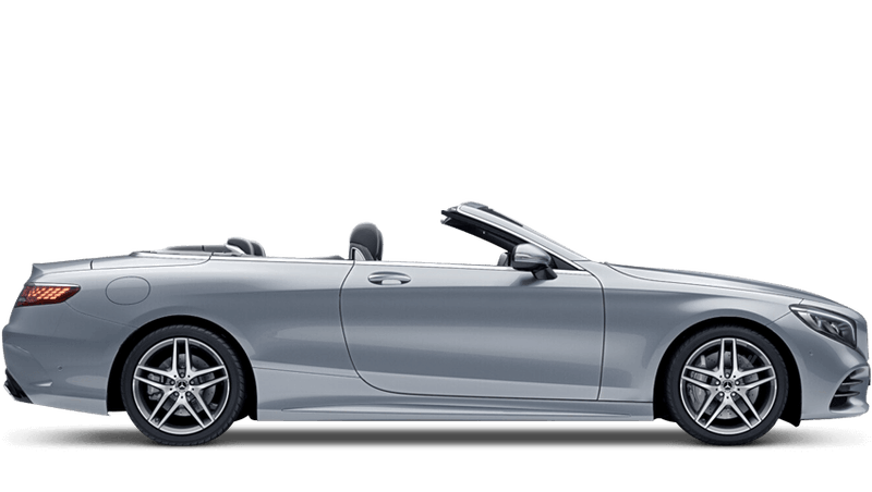 Diamond Silver (Metallic) Mercedes-Benz S-Class Cabriolet