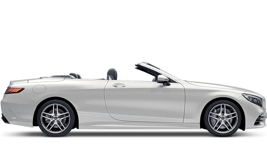 Diamond White (Special Metallic) Mercedes-Benz S Class Cabriolet