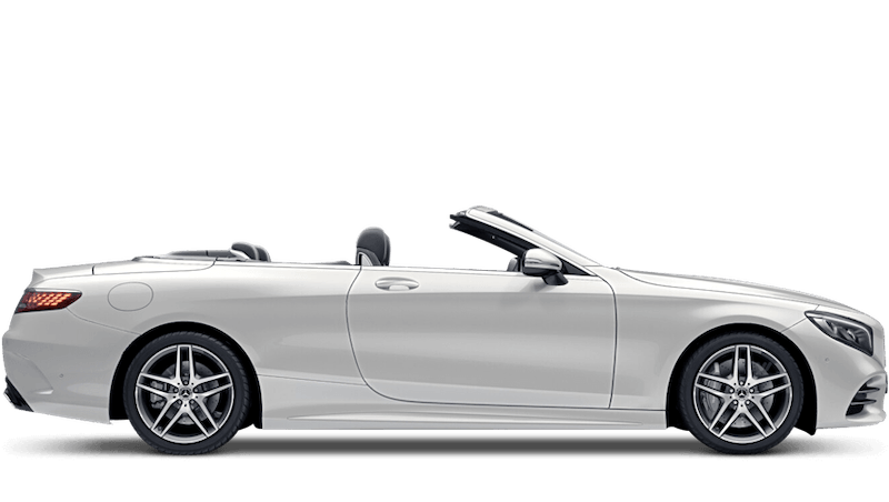 Diamond White (Special Metallic) Mercedes-Benz S-Class Cabriolet