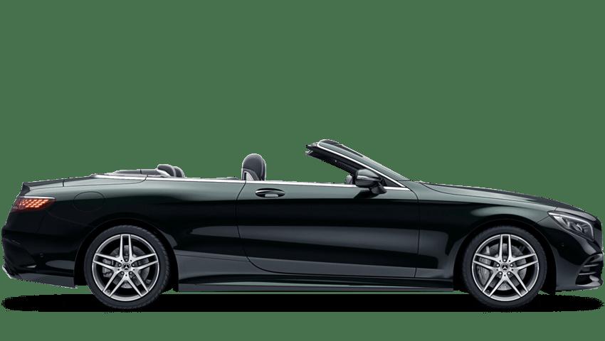 Emerald Green (Metallic) Mercedes-Benz S Class Cabriolet