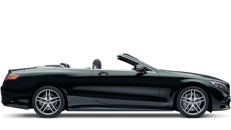 Emerald Green (Metallic) Mercedes-Benz S-Class Cabriolet