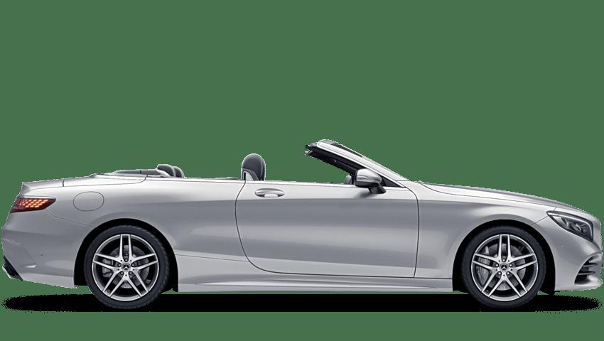 Iridium Silver (Metallic) Mercedes-Benz S Class Cabriolet