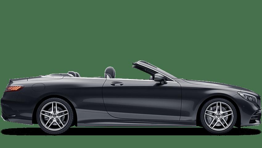 Magnetite Black (Metallic) Mercedes-Benz S Class Cabriolet