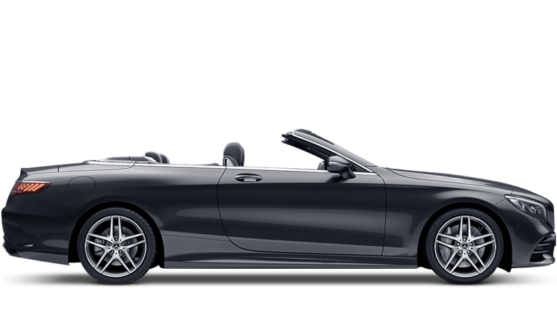 Magnetite Black (Metallic) Mercedes-Benz S-Class Cabriolet