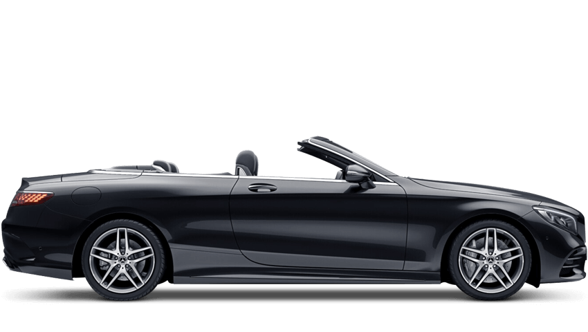 Obsidian Black (Metallic) Mercedes-Benz S Class Cabriolet