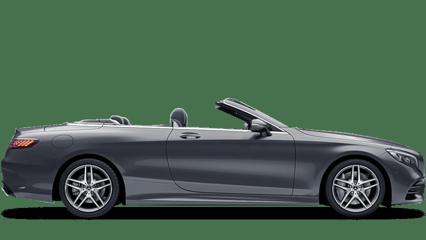Selenite Grey (Metallic) Mercedes-Benz S Class Cabriolet