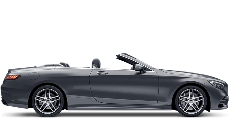 Selenite Grey (Metallic) Mercedes-Benz S-Class Cabriolet