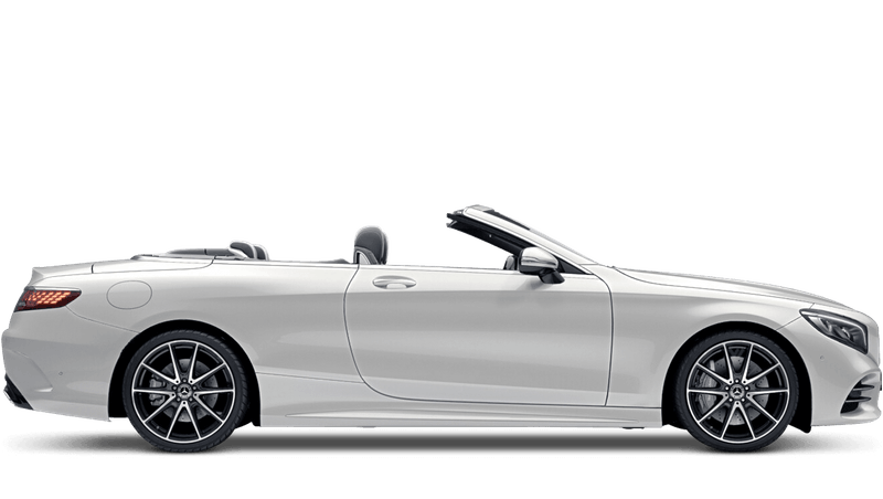 Diamond White (Designo) Mercedes-Benz S-Class Cabriolet