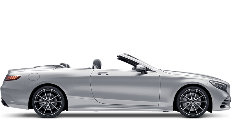 Iridium Silver (Metallic) Mercedes-Benz S-Class Cabriolet