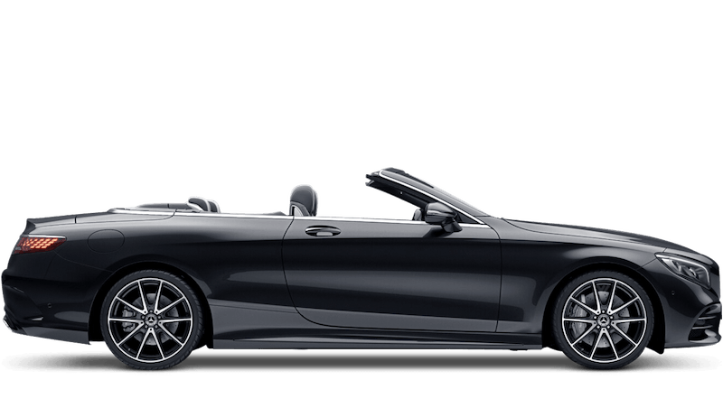 Obsidian Black (Metallic) Mercedes-Benz S-Class Cabriolet