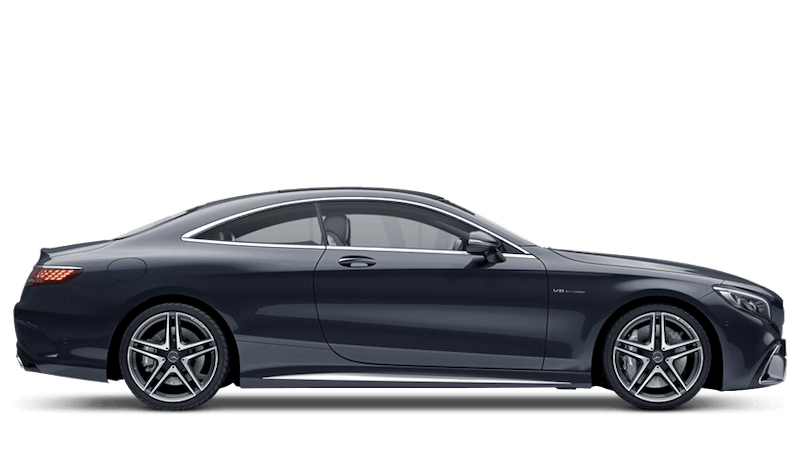 Anthracite Blue (Metallic) Mercedes-Benz S Class Coupe