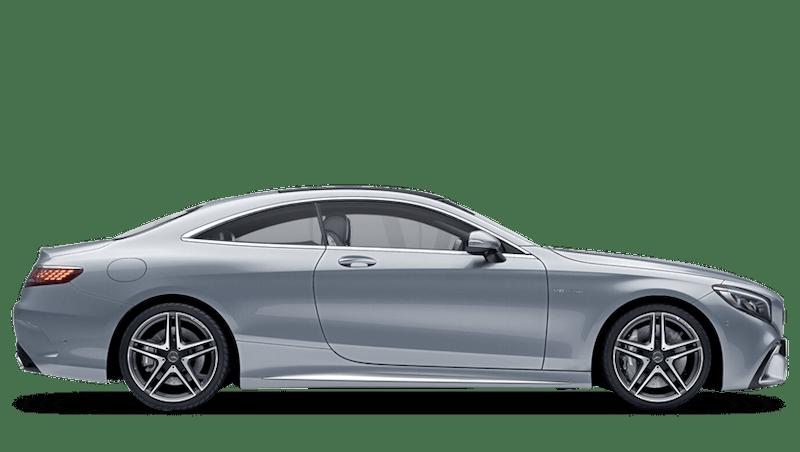 Iridium Silver (Metallic) Mercedes-Benz S Class Coupe