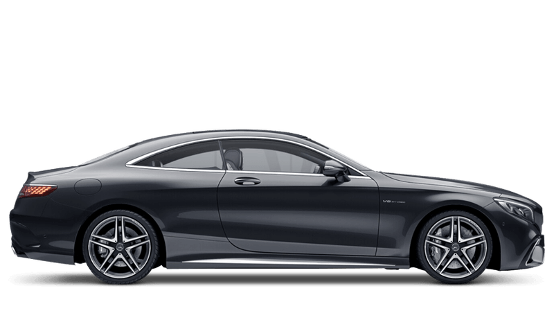 Magnetite Black (Metallic) Mercedes-Benz S Class Coupe