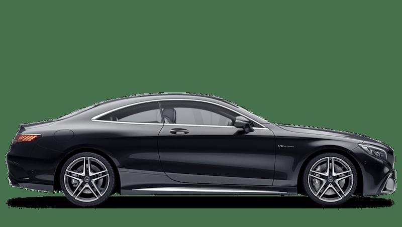 Obsidian Black (Metallic) Mercedes-Benz S Class Coupe