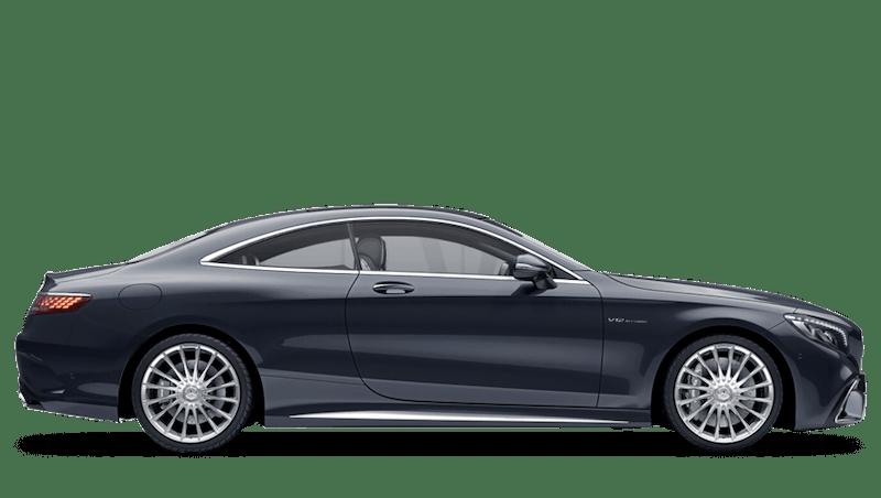 Anthracite Blue (Metallic) Mercedes-Benz S Class Coupé