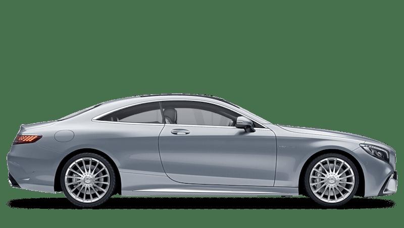 Diamond Silver (Metallic) Mercedes-Benz S Class Coupé