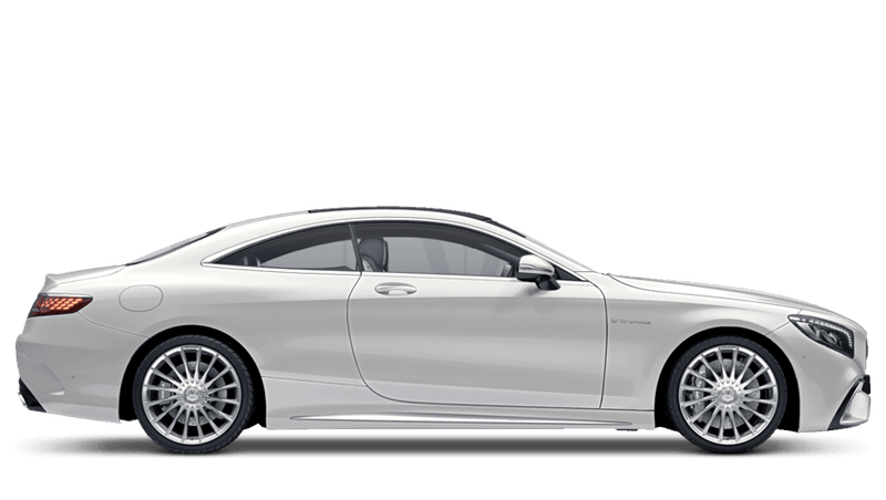 Diamond White Bright (Designo) Mercedes-Benz S Class Coupé