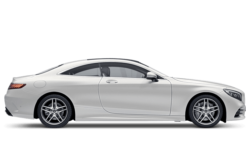 Cashmere White Magno (Designo Magno) Mercedes-Benz S Class Coupé