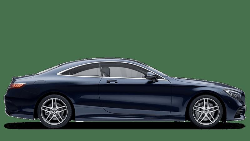 Cavansite Blue (Metallic) Mercedes-Benz S Class Coupé