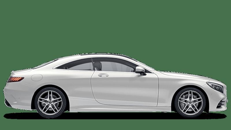Diamond White (Special Metallic) Mercedes-Benz S Class Coupé