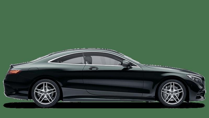 Emerald Green (Metallic) Mercedes-Benz S Class Coupé