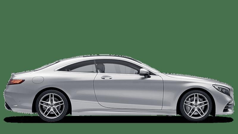 Iridium Silver (Metallic) Mercedes-Benz S Class Coupé