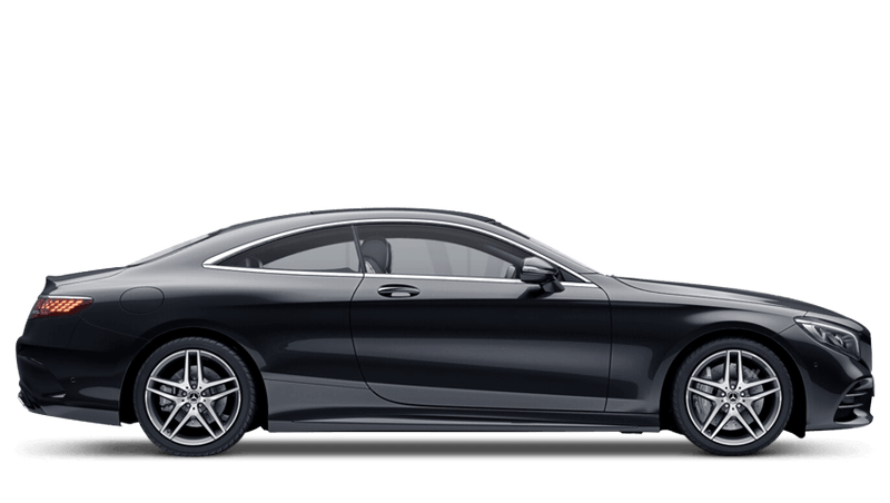 Obsidian Black (Metallic) Mercedes-Benz S Class Coupé
