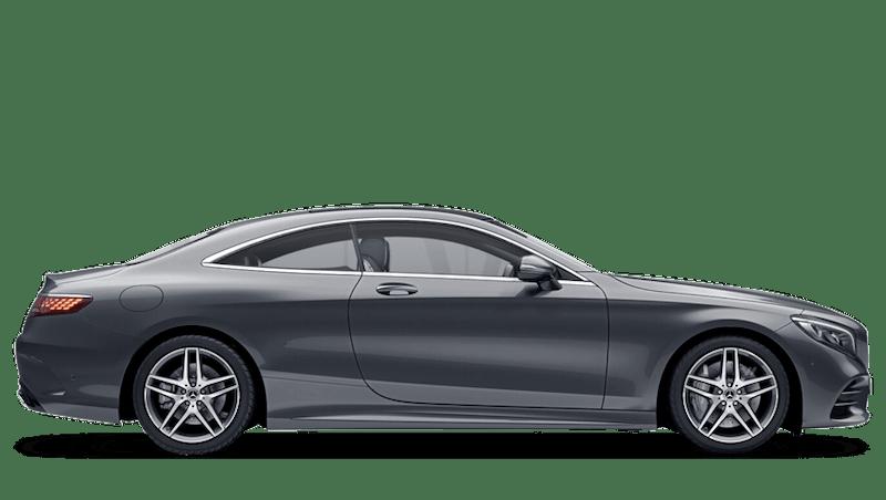 Selenite Grey (Metallic) Mercedes-Benz S Class Coupé