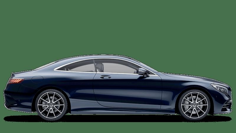 Cavansite Blue (Metallic) Mercedes-Benz S Class Coupe
