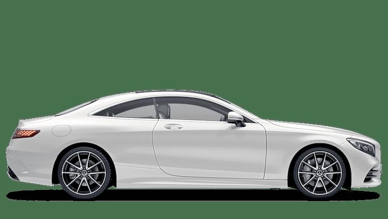 Diamond White (Designo) Mercedes-Benz S Class Coupe