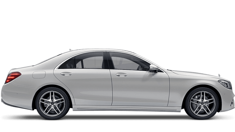 Diamond White (Special Metallic) Mercedes-Benz S-Class Saloon
