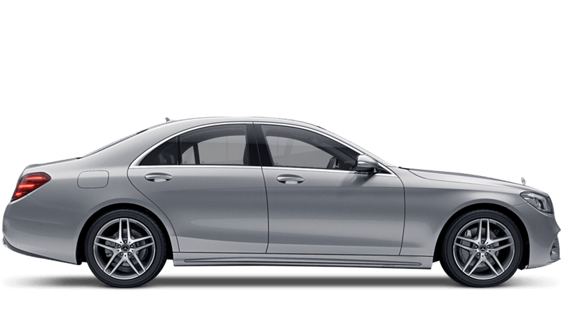 Iridium Silver (Metallic) Mercedes-Benz S-Class Saloon