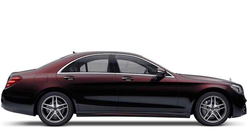 Ruby Black (Metallic) Mercedes-Benz S-Class Saloon
