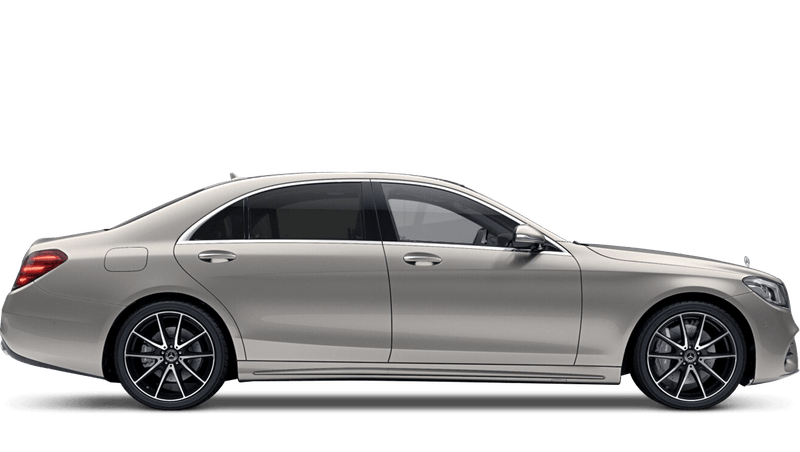 Aragonite Silver (Metallic) Mercedes-Benz S Class Saloon