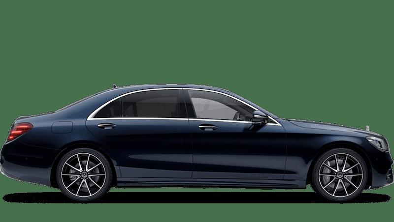 Cavansite Blue (Metallic) Mercedes-Benz S Class Saloon