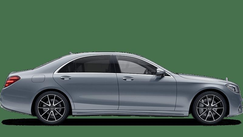 Diamond Silver (Metallic) Mercedes-Benz S Class Saloon