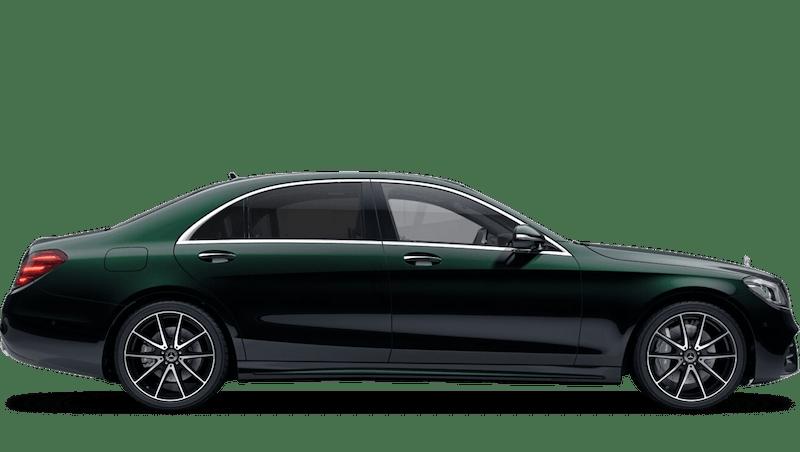 Emerald Green (Metallic) Mercedes-Benz S Class Saloon