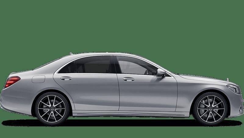 Iridium Silver (Metallic) Mercedes-Benz S Class Saloon
