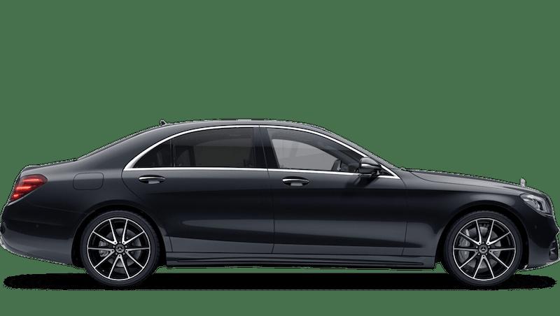 Magnetite Black (Metallic) Mercedes-Benz S Class Saloon