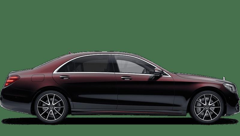Ruby Black (Metallic) Mercedes-Benz S Class Saloon
